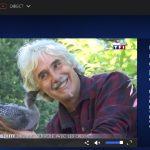 JT 20h TF1 l'Homme qui vole avec les oies en ULM: Christian Moullec