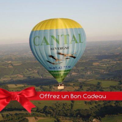 Bon Cadeau Vol en Montgolfière