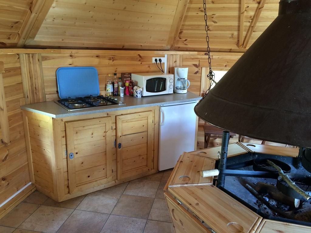 cuisine frigo four gaz